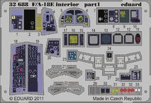 F/A-18E интерьер S.A. 1/32