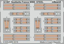 Seatbelts France WWII STEEL 1/32