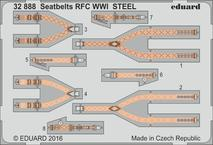 Seatbelts RFC WWI STEEL 1/32