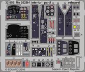 Me 262B-1 interior 1/32