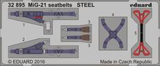 MiG-21 seatbelts STEEL 1/32