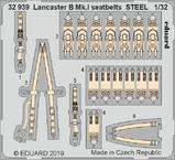 ランカスター B Mk.I シートベルト スチール製 1/32