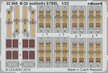 B-24 seatbelts STEEL 1/32
