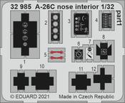 A-26C interiér přídě 1/32