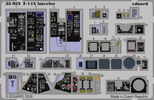 F-14A 内装 接着剤塗布済  1/32