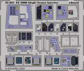 EF-2000 Typhoon Single Seater interior S.A. 1/32
