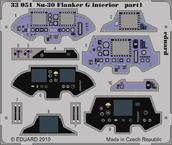 Su-30 Flanker G interiér S.A. 1/32