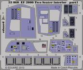 EF 2000 dvoumístný interiér S.A. 1/32