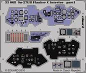 Су-27УБ Flanker C интерьер S.A. 1/32