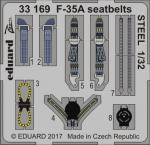 F-35A seatbelts STEEL 1/32