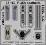 F-35A upínací pásy OCEL 1/32
