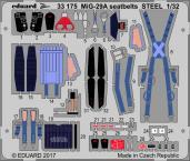 MiG-29A seatbelts STEEL 1/32