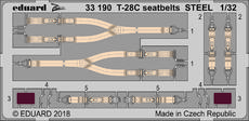 T-28C seatbelts STEEL 1/32