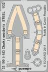 I-153 Chaika seatbelts STEEL 1/32