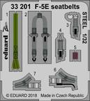 F-5E スチール製シートベルト 1/32