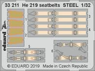 He 219 seatbelts STEEL 1/32