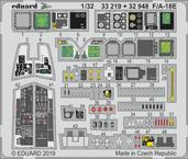 F/A-18E интерьер 1/32