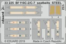 Bf 110C-2/C-7 seatbelts STEEL 1/32