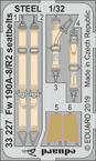 Fw 190A-8/R2 seatbelts STEEL 1/32