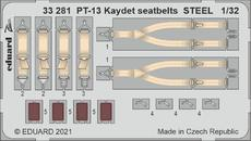 PT-13 Kaydet seatbelts STEEL 1/32
