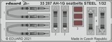 AH-1G seatbelts STEEL 1/32