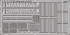 M-1128 дополнительные навесные багажники и стяжные ремни 1/35
