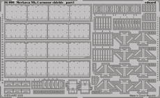 Merkava Mk.IV armour shields 1/35