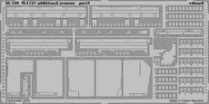 M-1131 přídavné pancéřové pláty 1/35