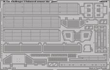 Challenger II Enhanced armour slat 1/35