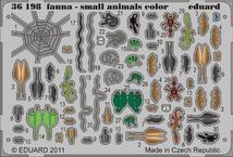Fauna - malá zvířata - barvené 1/35