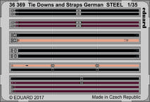Tie Downs and Straps German STEEL 1/35