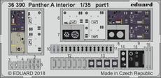 Panther A interiér 1/35