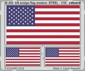 US ensign flag modern STEEL 1/35