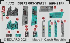 MiG-21PF SPACE 1/72