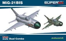MiG-21BIS DUAL COMBO 1/144