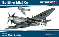 Spitfire Mk.IXc DUAL COMBO 1/144
