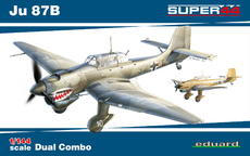 Ju 87B  デュアルコンボ 1/144