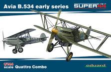 Avia B.534 ранняя серия QUATTRO COMBO 1/144