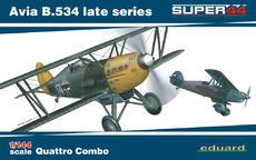 Avia B.534 Поздняя Серия Quattro Combo 1/144