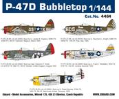 P-47D バブルトップ 1/144