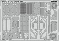 Bf 110D экстерьер 1/48
