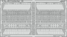 MiG-15 vztlakové klapky 1/48