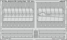 Blenheim Mk.I landing flaps 1/48