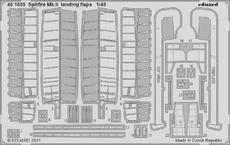 Spitfire Mk.II vztlakové klapky 1/48
