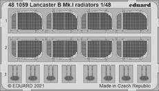 Lancaster B Mk.I radiators 1/48