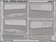 A6M2-K landing flaps 1/48