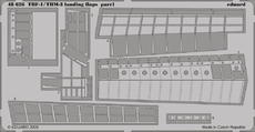 TBM-1/TBF-3 landing flaps 1/48