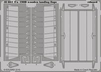 Fw 190D wooden landing flaps 1/48