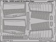 A6M3 model 32 landing flaps 1/48