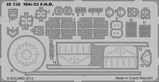 МиГ-23 чехлы 1/48